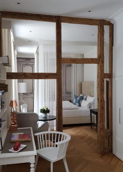 vorh nge als raumteiler 8 inspirierende luftig leichte. Black Bedroom Furniture Sets. Home Design Ideas