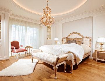 Exklusives Schlafzimmer mit Ankleide