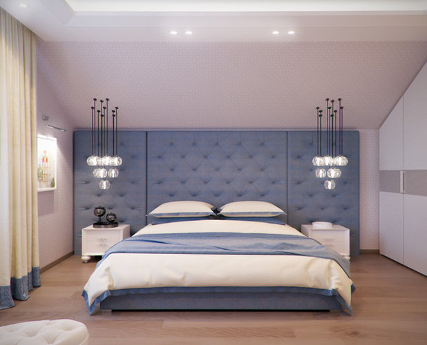 Eclectic Bedroom by Insight Vision