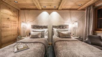 Gäste-Schlafzimmer in Landhaus-Atmosphäre