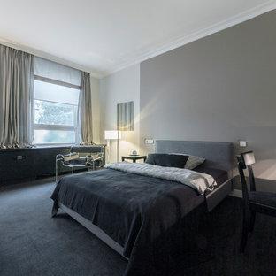 Camera da letto con pareti grigie Hannover - Design, Foto e Idee per ...