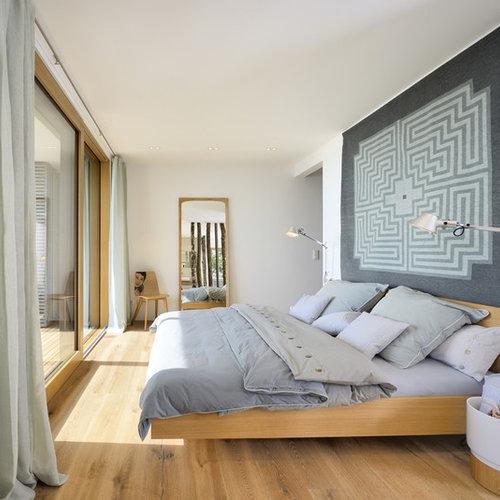 Modernes Schlafzimmer In Sonstige