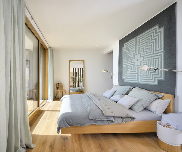 Contemporary Bedroom by Bau-Fritz GmbH & Co. KG