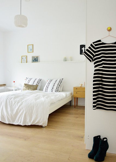 Scandinavian Bedroom by Stephanie Schetter