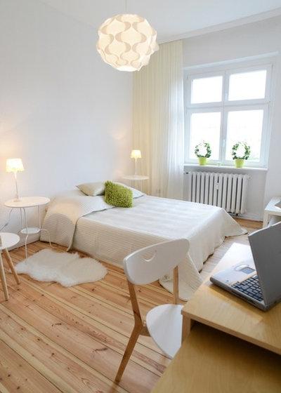 Camera da letto: total white? una scelta da fare a occhi chiusi