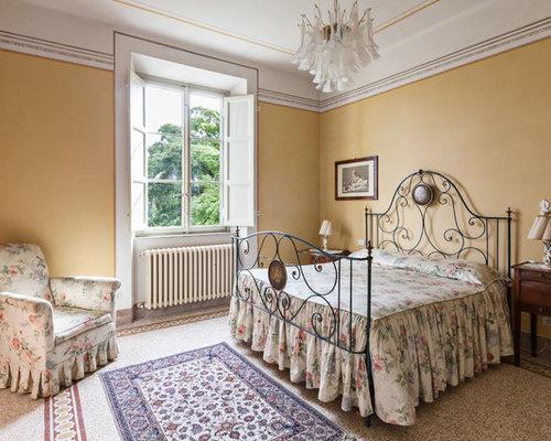 Camera da letto con pareti gialle foto e idee per arredare - Camera da letto gialla ...