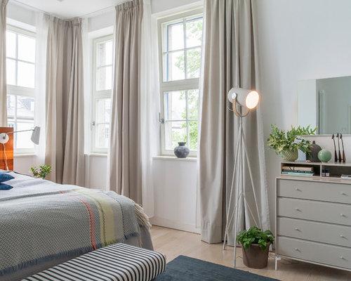 skandinavische schlafzimmer - ideen, design & bilder - Schlafzimmer Skandinavisch Gestalten