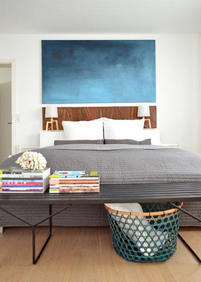zeitgenössische dachgeschoss schlafzimmer ideen zeigen cool an bettbänke industrial schlafzimmer by kristina steinmetz design stylische idee fürs schlafzimmer die bettbank ist wieder da