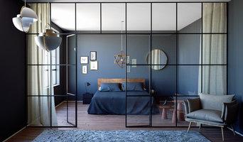 Innenraumvisualisierung Schlafzimmer
