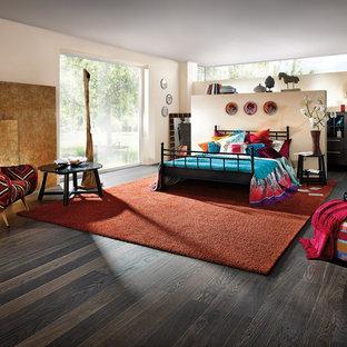 Eklektisches Schlafzimmer in Sonstige