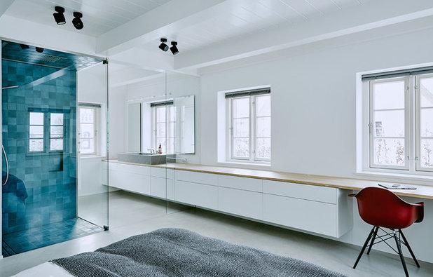 baden im schlafzimmer: vor- und nachteile eines bad en suite - Offene Badezimmer Schlafzimmer