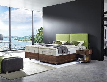 Komfortbetten (mit Höhenverstellung)