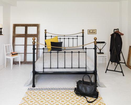 Landhausstil schlafzimmer mit wei en w nden ideen f rs - Schlafzimmer lampen landhausstil ...