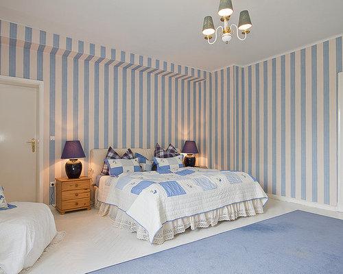 Schlafzimmer landhausstil ideen  Landhausstil Schlafzimmer - Ideen, Design & Bilder