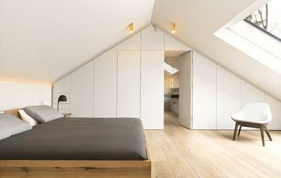 10 Beispiele für deckenhohe Einbauschränke im Schlafzimmer