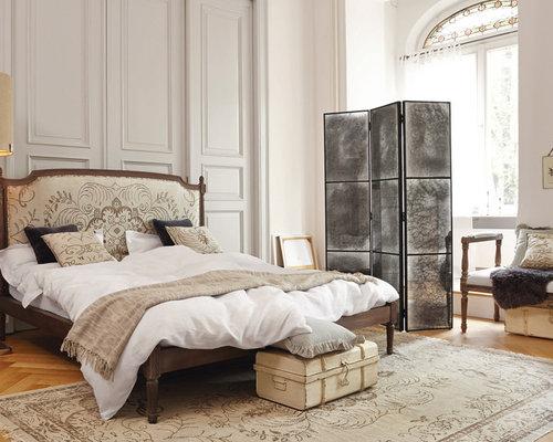 blaues Schlafzimmer Design Himmelbett