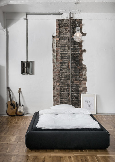 Industriale Camera da Letto by RUS Architekten BDA