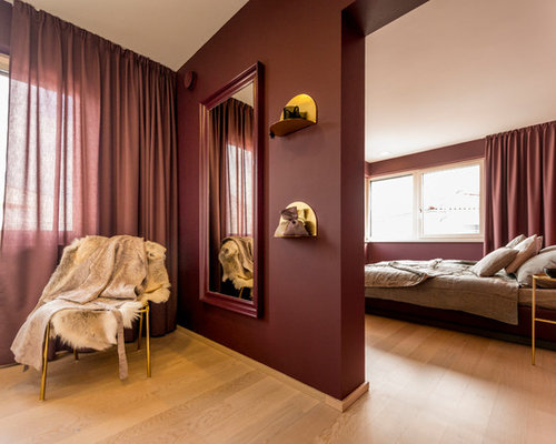 Burgundy Bedroom Ideas And Photos Houzz