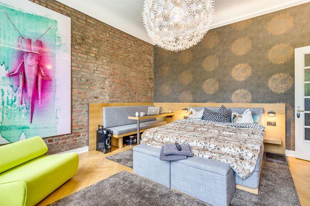 Современный Спальня Modern Schlafzimmer