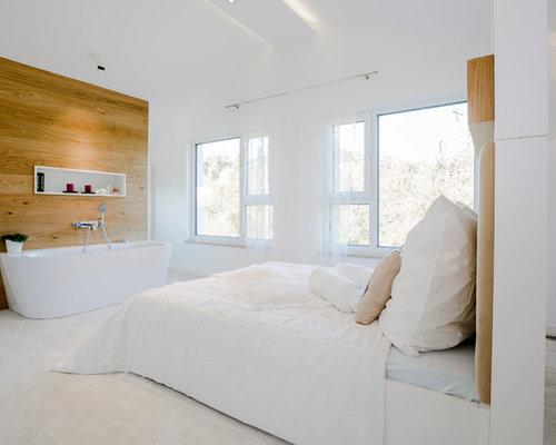 badewanne im schlafzimmer - ideen & bilder | houzz, Schalfzimmer deko