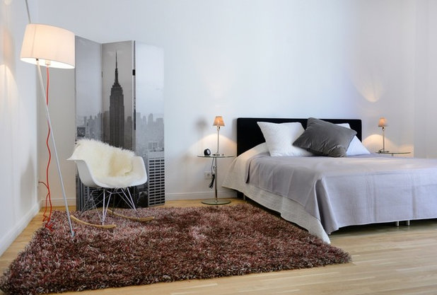 Nórdico Dormitorio by WELLHAUSEN Immobilien Styling