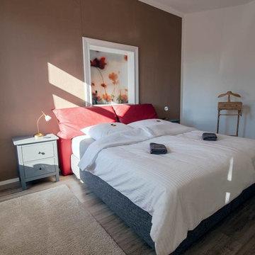 Nachher - Schlafzimmer - Ferienwohnung für meine Heimatstadt - WohlfühlCelle