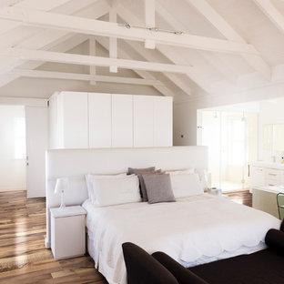 Schlafzimmer Mit Braunem Holzboden Ideen Design Bilder Houzz