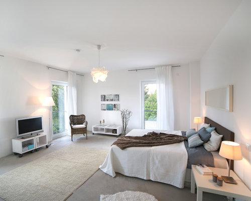 Teppichboden Schlafzimmer - Ideen & Bilder | HOUZZ