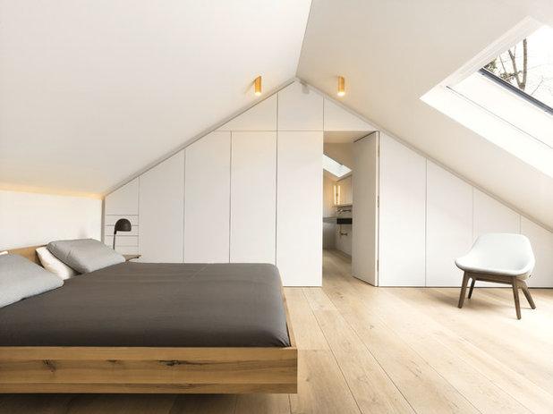 Skandinavisch Schlafzimmer by ZEITRAUM