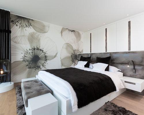 Schwarz-weißes Schlafzimmer - Ideen & Bilder   HOUZZ