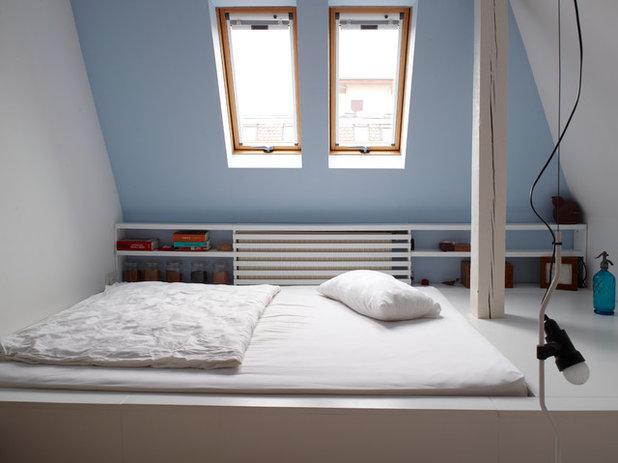 Schlafzimmer mit dachschr ge gestalten 8 tipps - Dachgeschoss zimmer gestalten ...