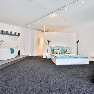 Chambre mansardée ou avec mezzanine Cologne : Photos et idées déco ...