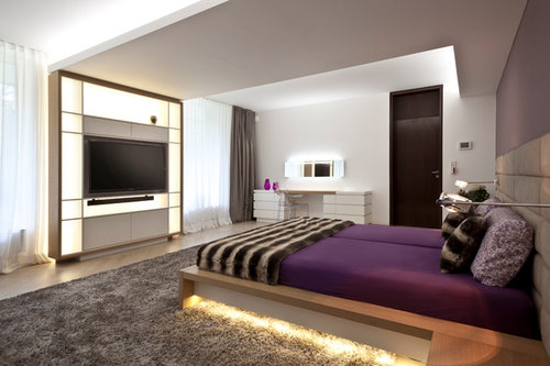 umfrage fernseher im schlafzimmer. Black Bedroom Furniture Sets. Home Design Ideas