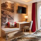 moderner chalet style rustikal esszimmer sonstige. Black Bedroom Furniture Sets. Home Design Ideas