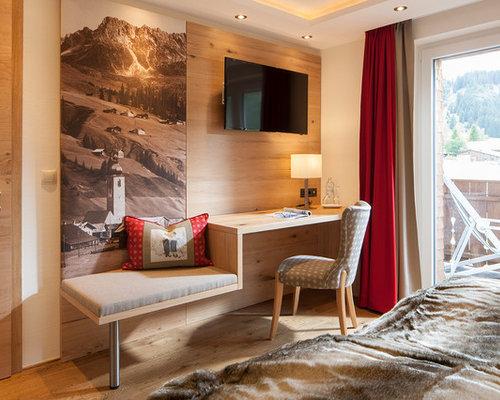 Rustikale Schlafzimmer Design-ideen & Bilder | Houzz Schlafzimmer Rustikal