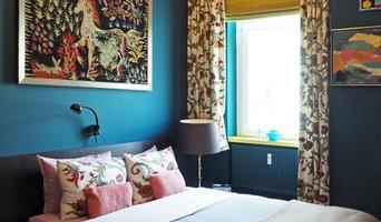 Schlafzimmer in Blau