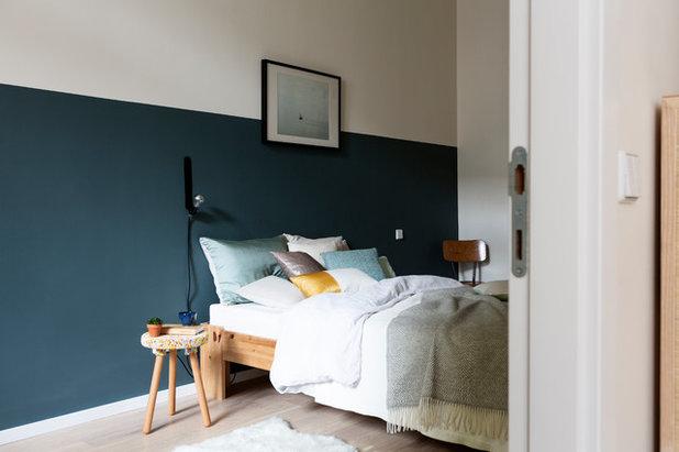 Modern Schlafzimmer by Kathy Kunz Interiors