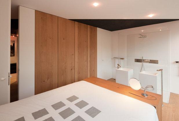 Contemporaneo Camera da Letto by Fabi Architekten BDA