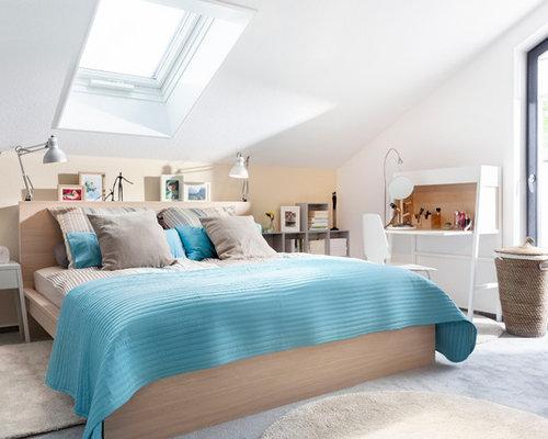 Schlafzimmer ideen mit dachschräge  Schlafzimmer Dachschräge - Ideen & Bilder | HOUZZ