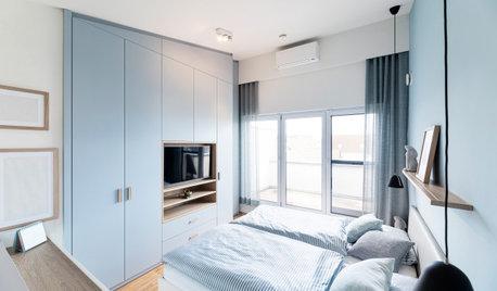 19 tolle Variationen für Kleiderschränke im Schlafzimmer