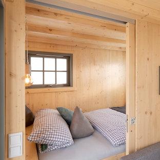 Kleines Rustikales Schlafzimmer in Frankfurt am Main