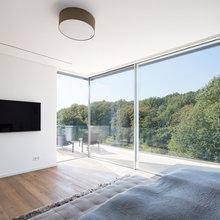 Fenster, Glaswände