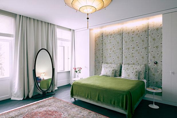 Camera Da Letto Blu Notte : Idee fantastiche per una parete imbottita in camera da letto