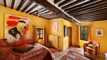 Villa in Gordes Südfrankreich - Alt trifft Neu
