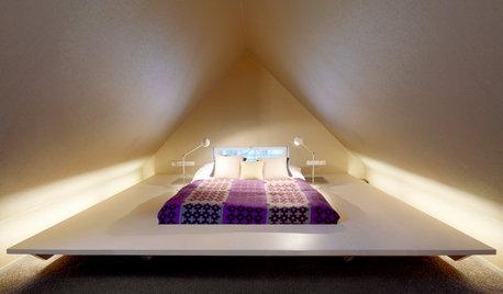 Houzz Германия: Световые фокусы на мансарде в Вельцхайме