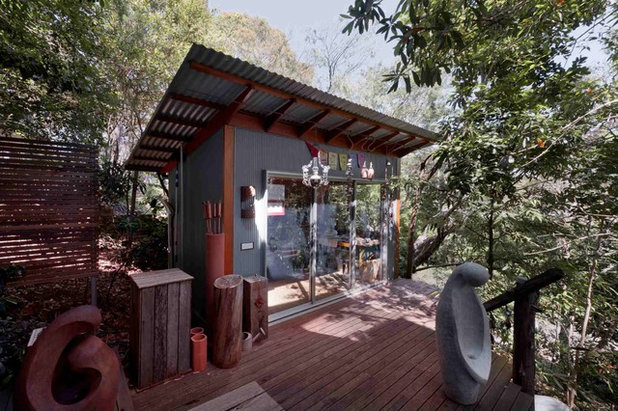 Eclectic Shed by your abode