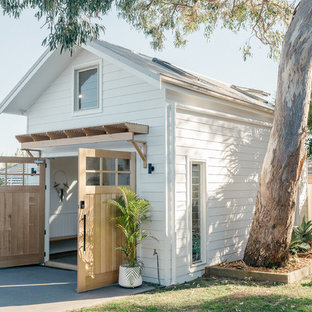 Inspiration for a beach style detached shed and granny flat in Central Coast.