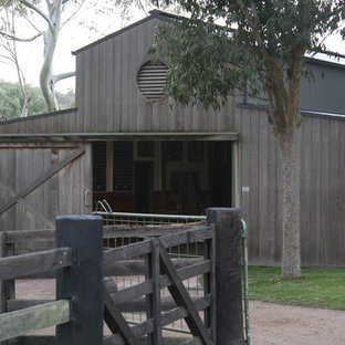 Country shed and granny flat in Melbourne.