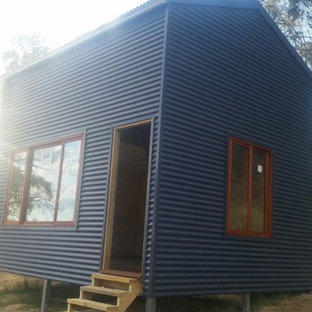Design ideas for a small industrial detached granny flat in Canberra - Queanbeyan.