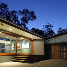 Contemporary Garage And Shed by Tim Ditchfield Architects
